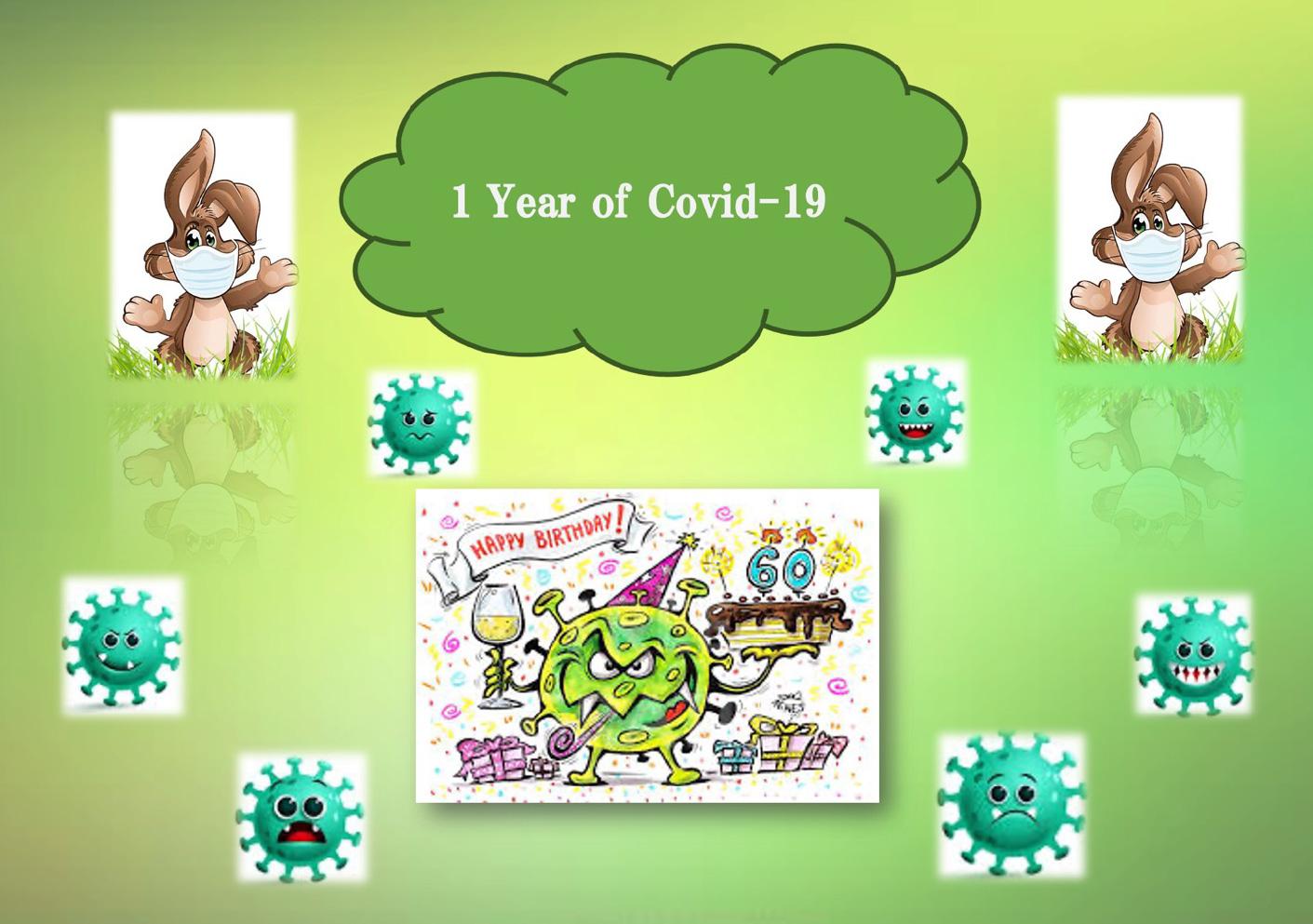 1 Jahr Coronavirus
